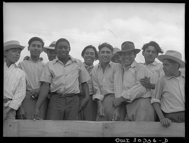 Corpus Christi, Texas. Mexican and Negro farm labor