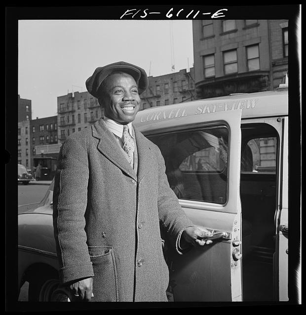 New York(?), New York. Negro taxi driver