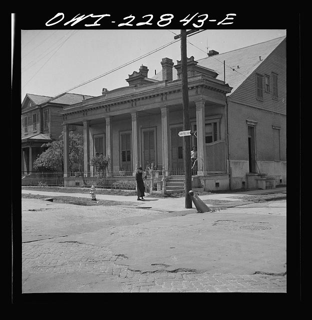 New Orleans, Louisiana. Old house