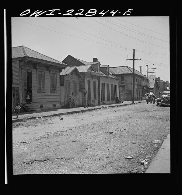 New Orleans, Louisiana. Negro section