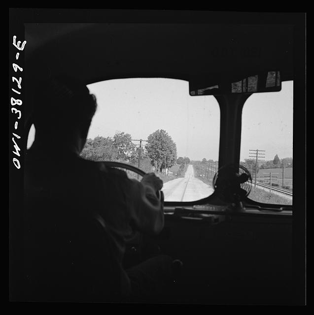 Bus trip from Knoxville, Tennessee, to Washington, D.C.