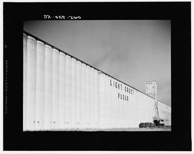 Amarillo, Texas. Grain elevators