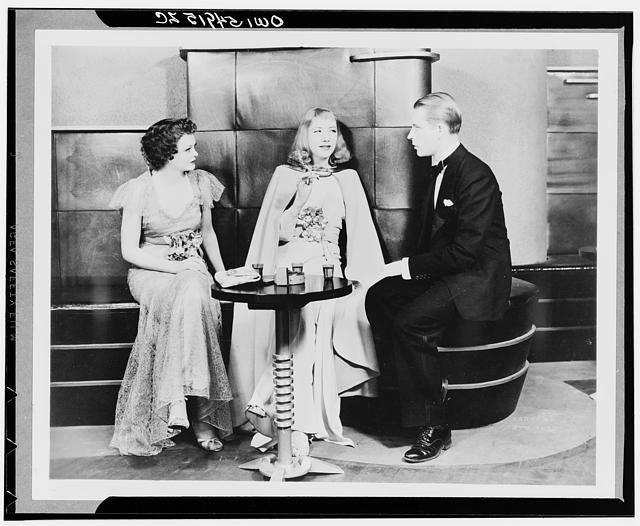 Idiot's Delight. American Theatre Guild production, 1935-1936, starring Alfred Lunt and Lynne Fontanne