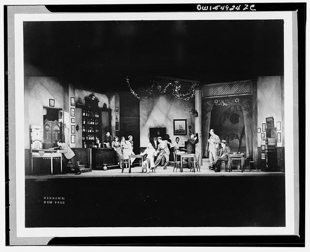 Time of Your Life. American Theatre Guild production, 1939-1940 with Eddie Dowling, Julie Haydon, Gene Kelly, and Charles de Sheim