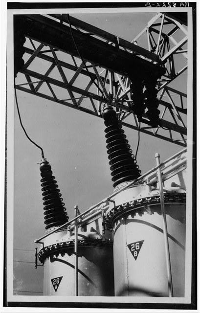 Power station. Tennessee Valley Authority development