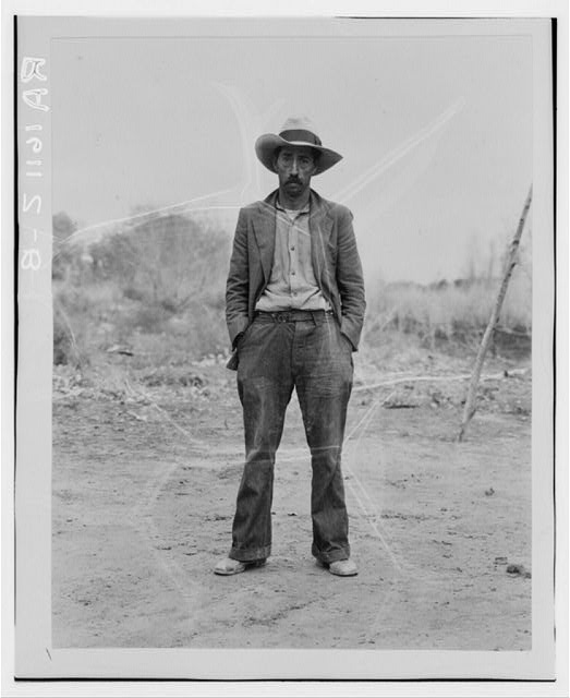 Mexican field worker, father of six. Imperial Valley, Riverside County, California