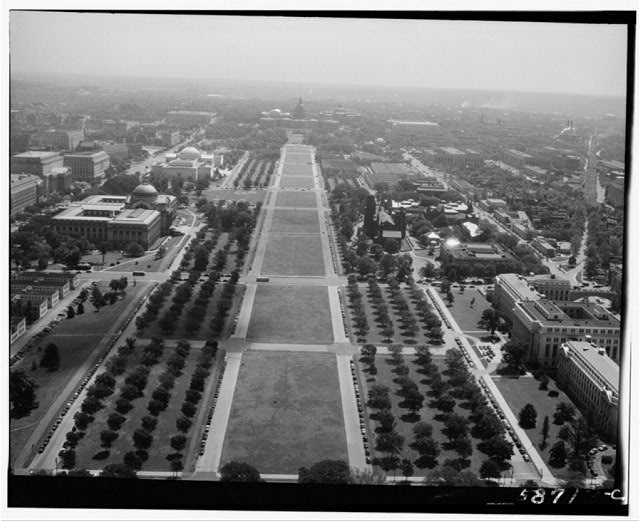 Washington, D.C. Views from Washington Monument