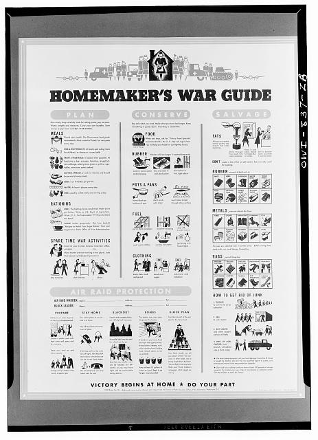 Homemaker's war guide