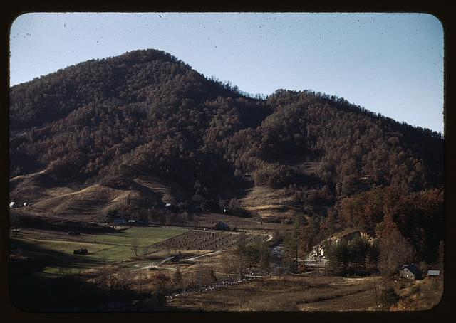 [Mountain farm along the Skyline Drive, Virginia]