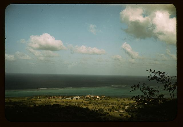 Part of the harbor, Christiansted, St. Croix, Virgin Islands