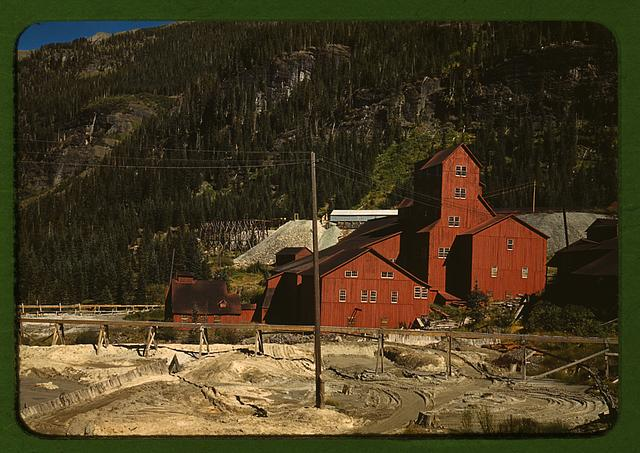 Mill at the Camp Bird Mine, Ouray County, Colorado