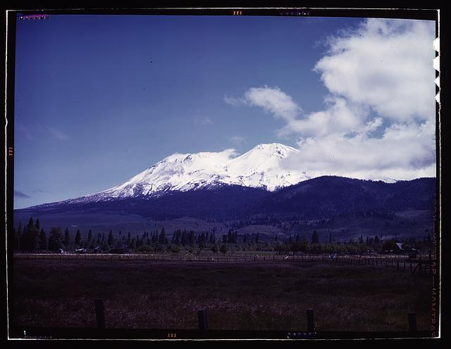 [View of Mount Shasta, Calif.]