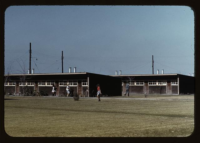 Row shelters, FSA ... labor camp, Robstown, Tex.