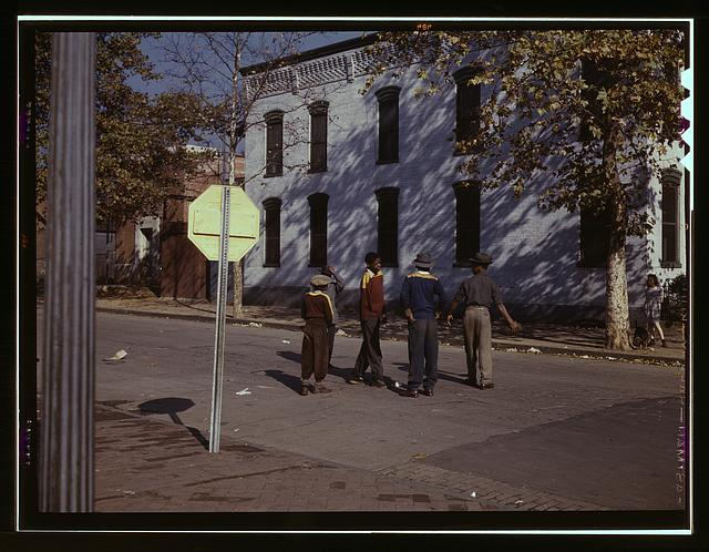 [Children in street, Washington, D.C]