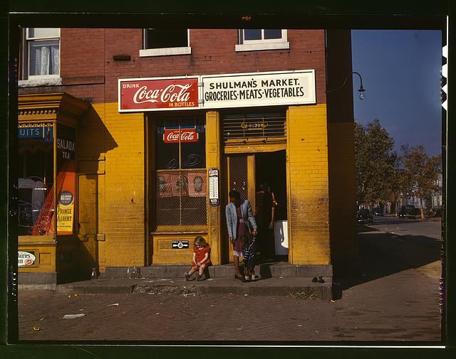 [Shulman's market, on N at Union Street S.W., Washington, D.C.]
