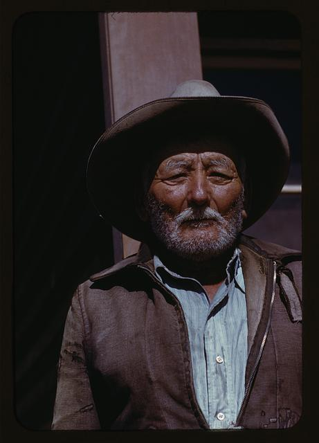 [Man, possibly a farmer or agricultural laborer]