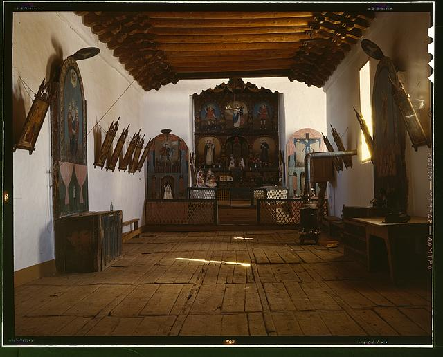 Church of Trampas, Taos Co., N[ew] M[exico]