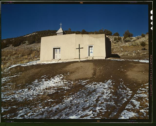 Chapel, Vadito, near Penasco, New Mexico