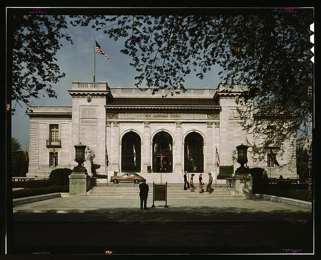 Front view of the Pan American Union, Washington, D.C.