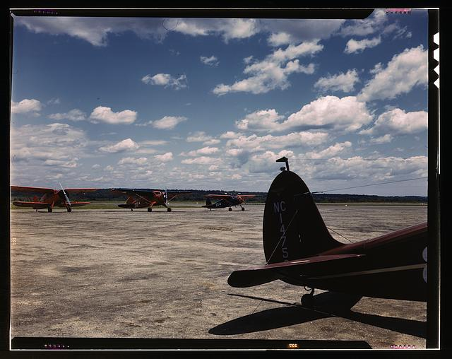 Civil Air Patrol Base, Bar Harbor, Maine. Flying field of Coastal Patrol #20