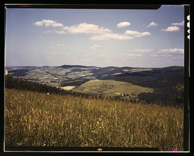 Farmland in the Catskill Mountains, Richmondsville, N.Y.