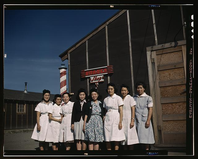 Japanese-American camp, war emergency evacuation,[Tule Lake Relocation Center, Newell, Calif.]