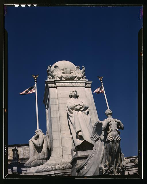Columbus Statue in front of Union Station, Washington, D.C.