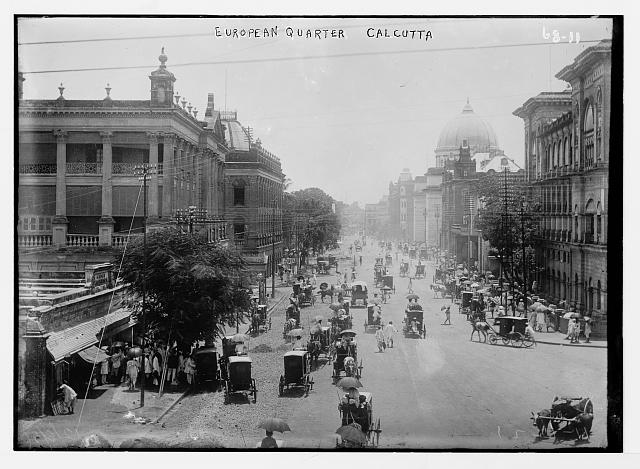 European Quarter, Calcutta, India