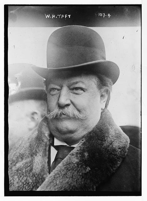 W.H. Taft, portrait bust