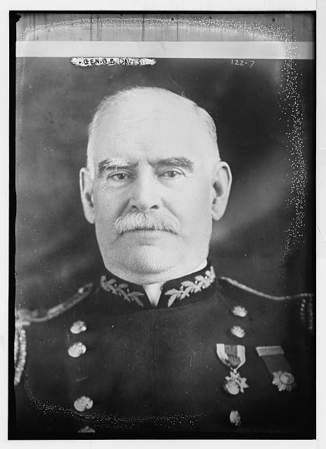 Gen. G.B. Davis, portrait bust, in uniform