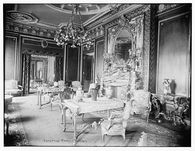 St. Regis Hotel: Reception room