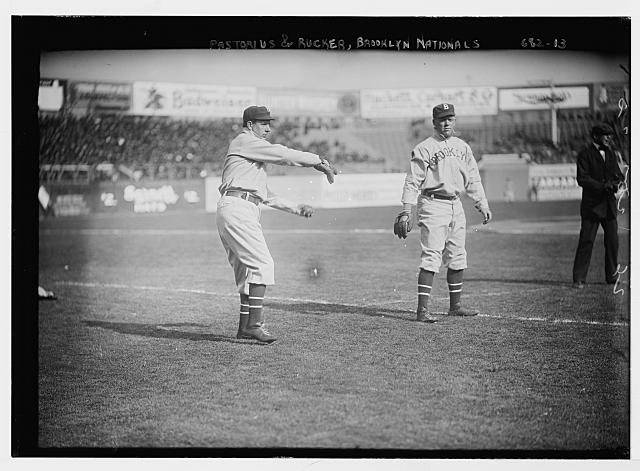 [Jim Pastorius & Nap Rucker, Brooklyn NL (baseball)]