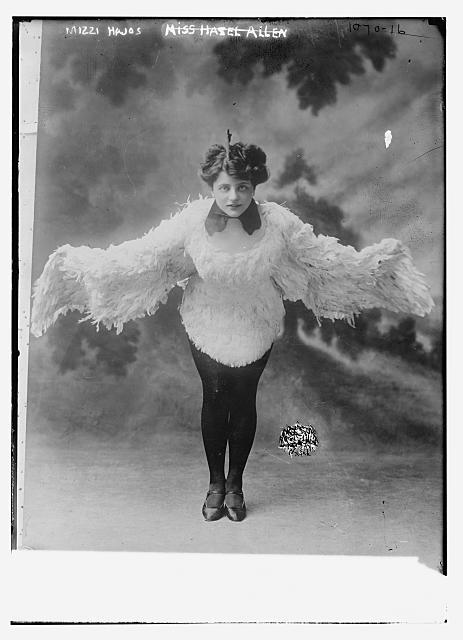 Mizzi Hajos in dancing costume