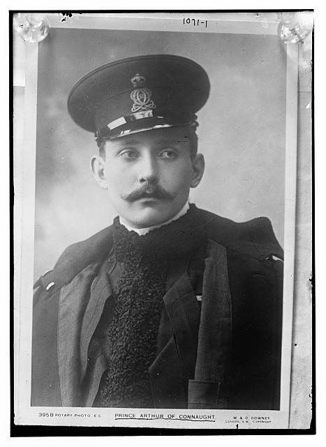 Prince Arthur of Connaught, Rotary Photo. E.C.