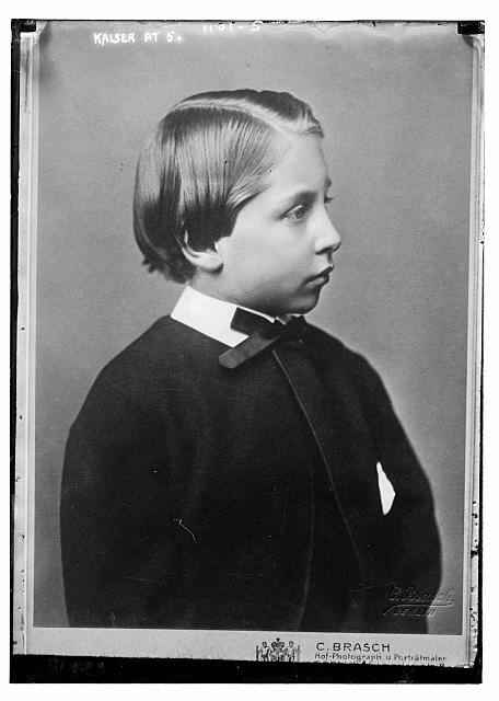 Kaiser at age 5, Brasch Photo., Berlin