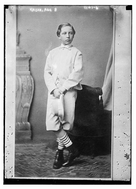Kaiser, age 8, Brasch Photo., Berlin