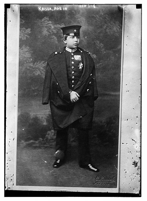 Kaiser, age 10, Brasch Photo., Berlin