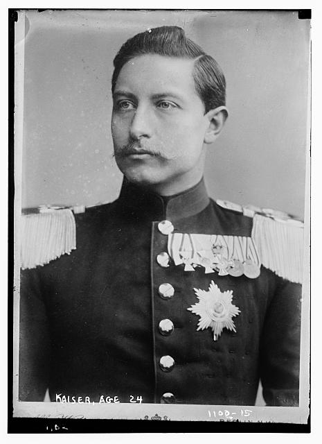 Kaiser, age 24, Brasch Photo., Berlin