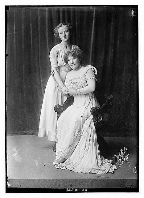 Mme. Gadski & daughter
