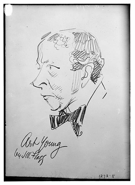 Art Young (caricature) by J.M. Flagg