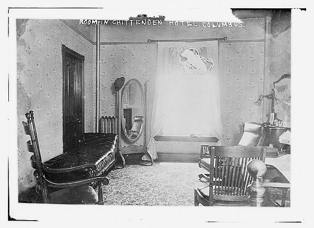Room in Chittenden Hotel, Columbus