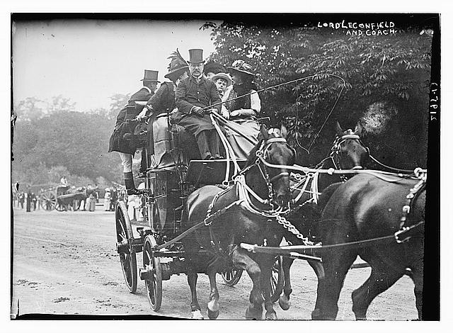 Lord Leconfield and Coach