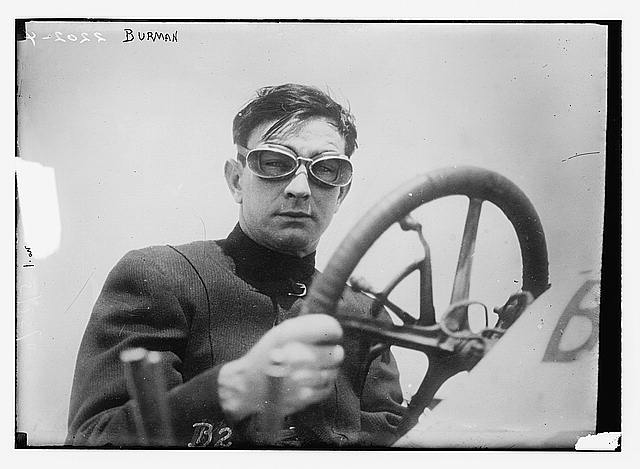 [Bob Burman, race car driver]