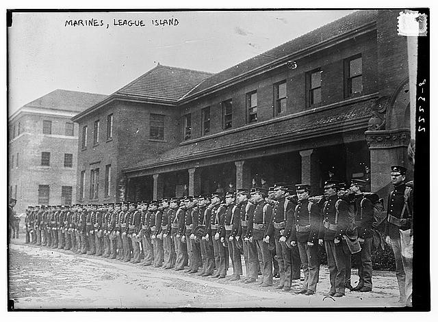 Marines, League Island