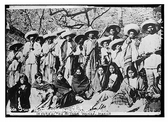 Insurrectos & their women, Mexico