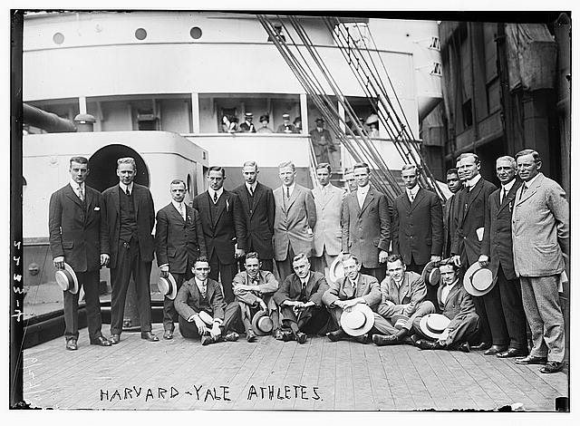 Harvard - Yale Athletes