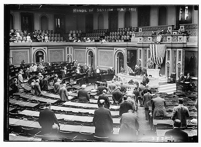 House in session. May 1911.