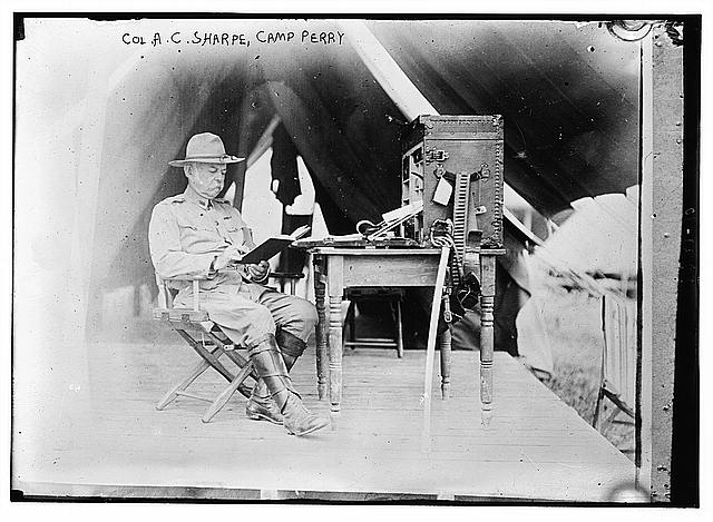 Col. A.C. Sharpe, Camp Perry