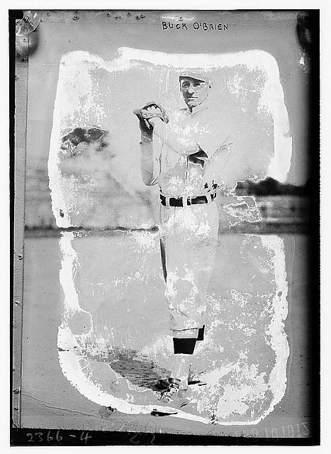 "[Thomas J. ""Buck"" O'Brien, Boston, AL (baseball)]"