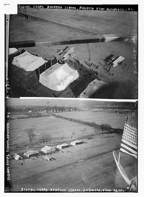 Signal Corps Aviation School, Augusta  From Aeroplane [4]